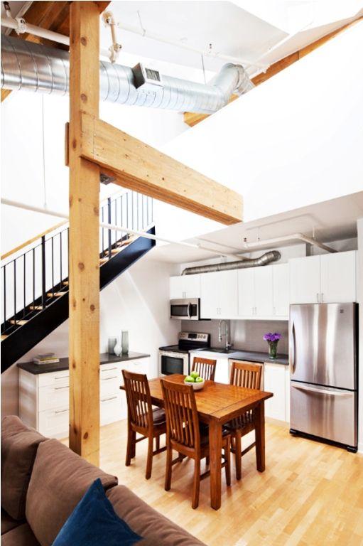 Desain Dapur Minimalis Di Bawah Tangga Modern