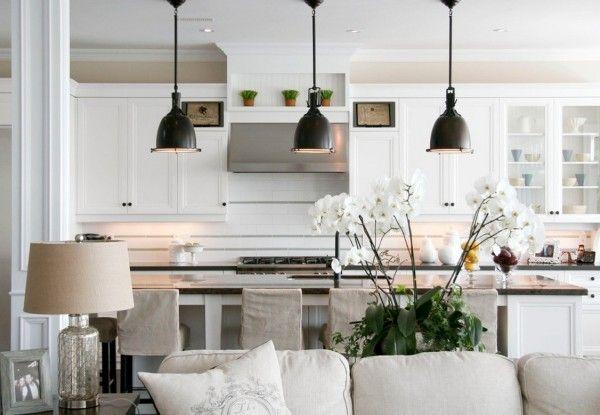 kitchen pendent lights | ... kitchen e1371742549603 Choosing The Perfect Kitchen Pendant Lighting