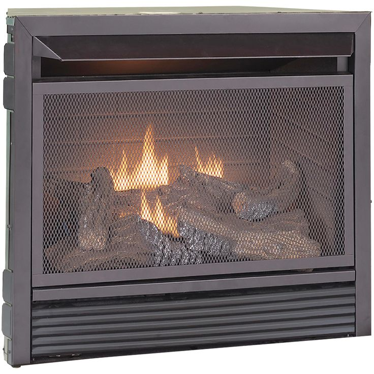 Duluth dual fuel ventless gas fireplace insert