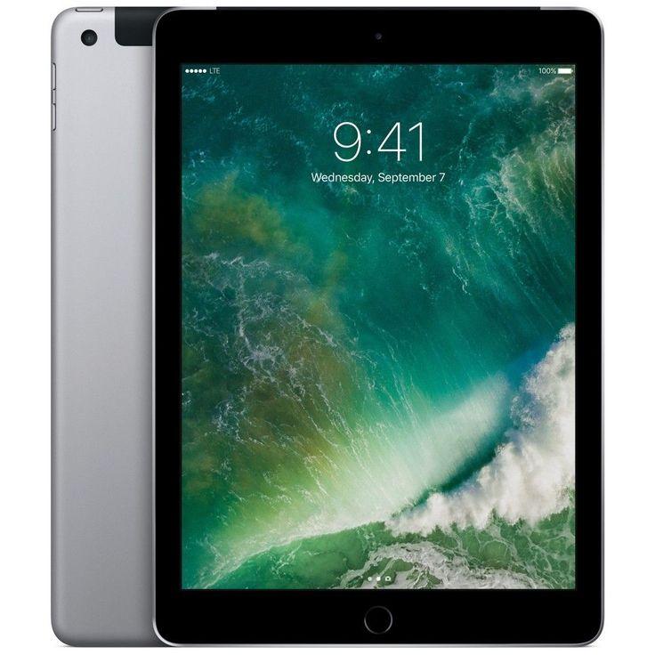Apple iPad 128GB Wifi + Cellular for Apple Sim - Space Gray