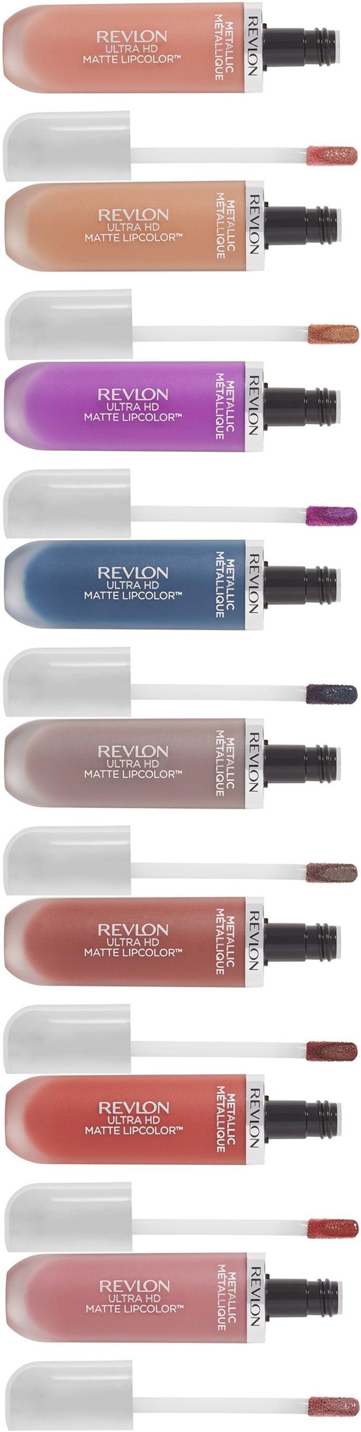 Revlon Ultra HD Matte Metallic Lipcolor for Summer 2017