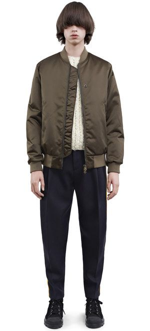 Acne Studios Fall 2016 Jacket: Selo, Olive Green