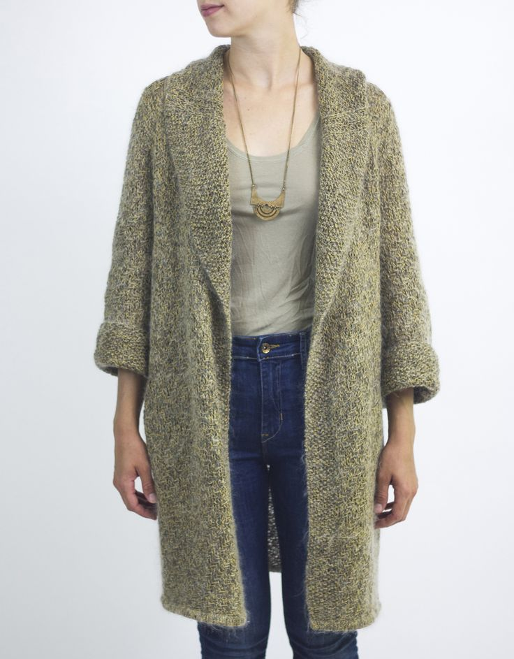 Funky Free Knitting Patterns For Sweater Coats Embellishment