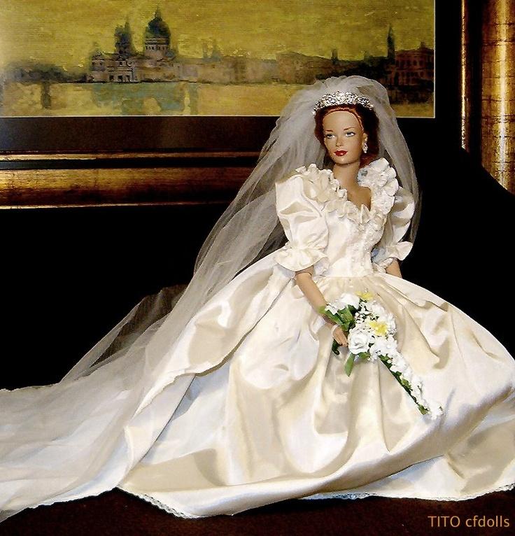 3935 best Doll Brides images on Pinterest   Barbie bridal, Fashion ...