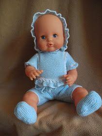 Como se van acercando las fechas navideñas muchas mamas y abuelas ,   me han pedido patrones para hacer ropita a los muñecos Nenuco ,   y...