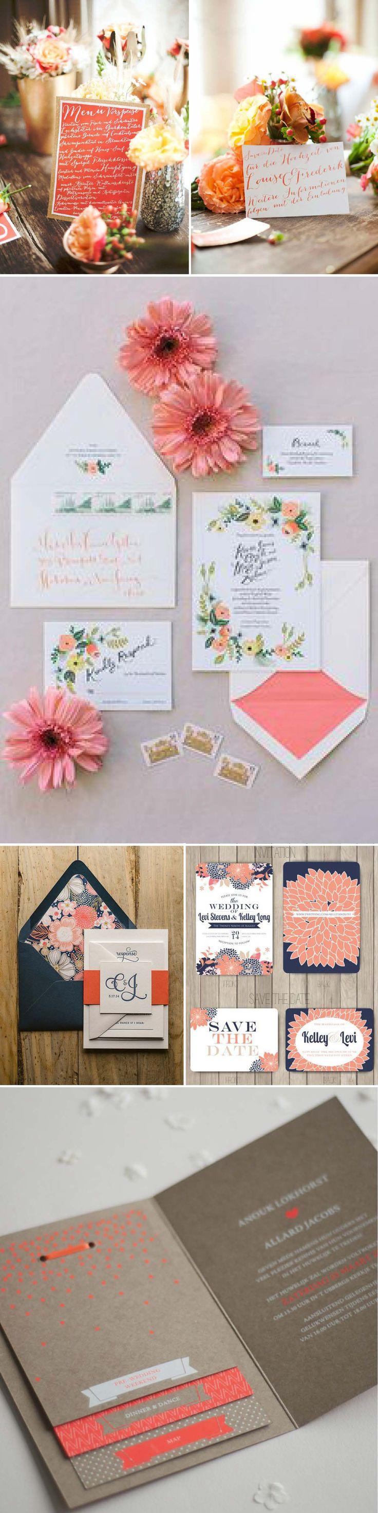 liebelein-will, Hochzeitsblog - Koralle, Farben, Hochzeit, Papeterie