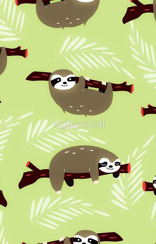 Sloths Pattern