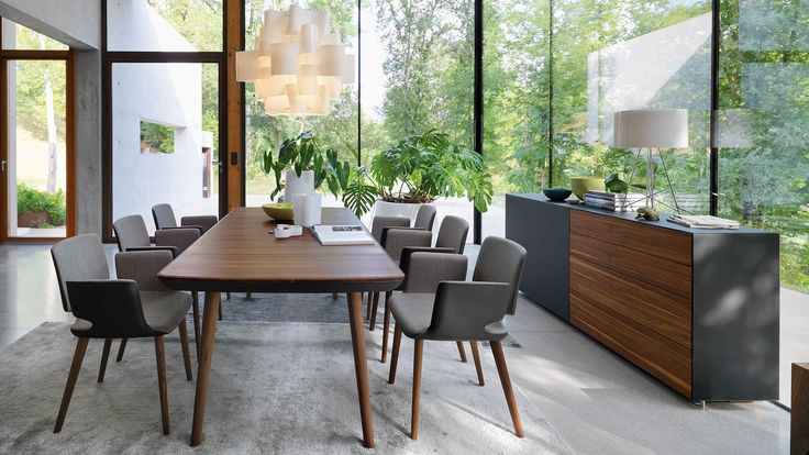 flaye extendable table with aye chairs and cubus pure occasional furniture