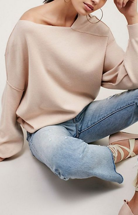 seamed sweater