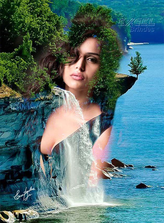 Nathalia Kaur cachoeira