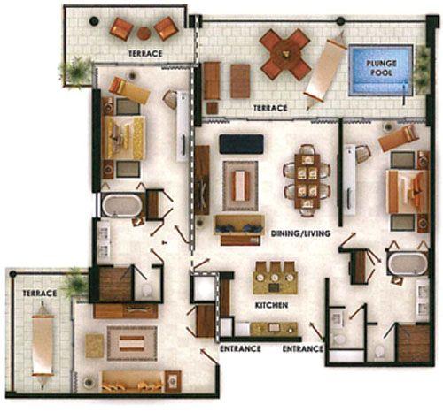 Grand Luxxe Villa Two Bedroom Suite Nuevo Vallarta