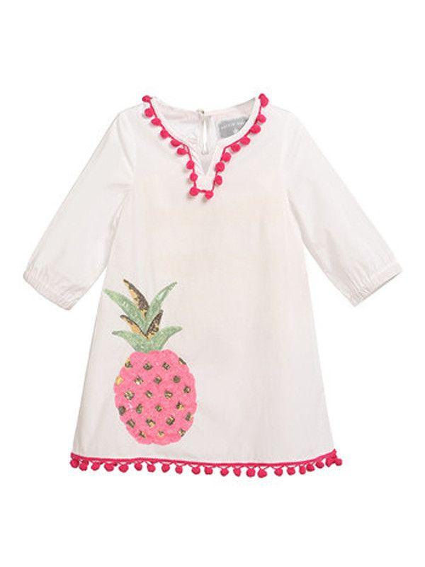 Rockin' Baby Pineapple Kaftan