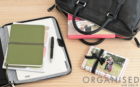 An Organised Life: Portable Office //  There are days when you seem to be always on the go. Whether you're rushing between meetings, working from home or simply juggling a busy schedule, here's how to create a portable office in your handbag. Click and read our 5 tips to putting together your own portable office on our blog. x
