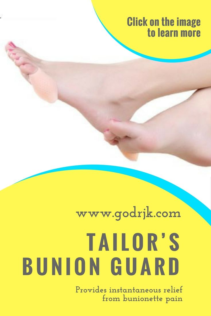 Bunionpal tailors bunion guard with images tailors