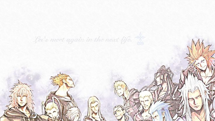 Kingdom Hearts images Organization XIII HD wallpaper and