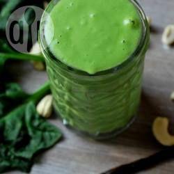 Kojktajl z nerkowców, szpinaku I bananów #zielonekoktajle #zielonesmoothie