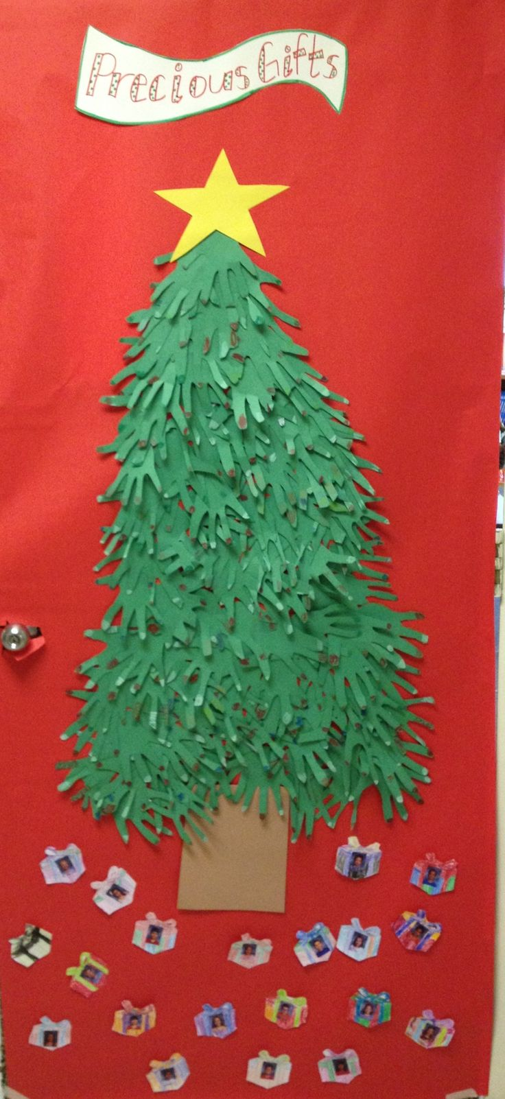 Christmas door decoration:-)