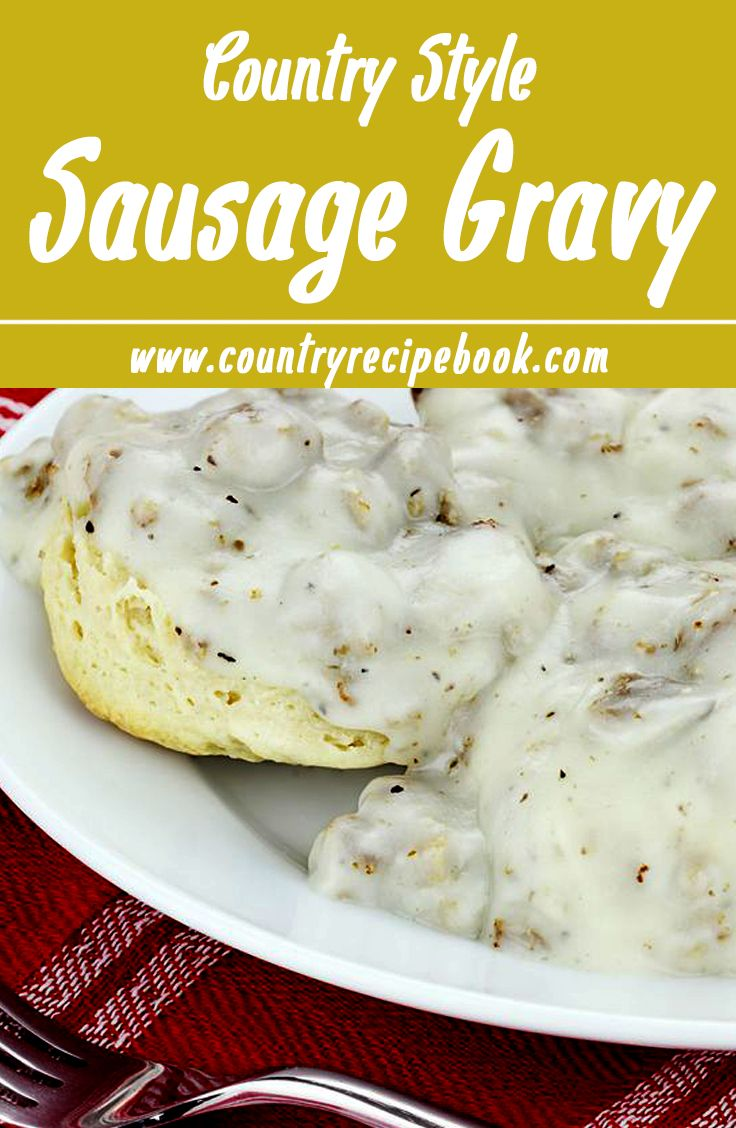 Easy recipes biscuits and gravy