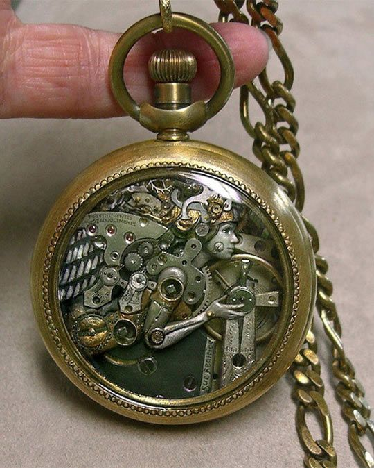 Incredible Steampunk Styled Watch #Steampunk ☮k☮