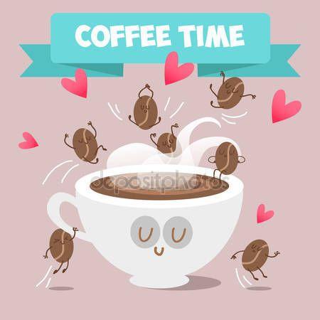 Картинки по запросу кофе с собой вектор
