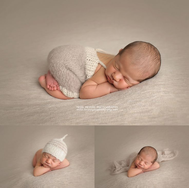 Phoenix newborn photographer keri meyers shares lukes first photos from his rustic and blue themed newborn session
