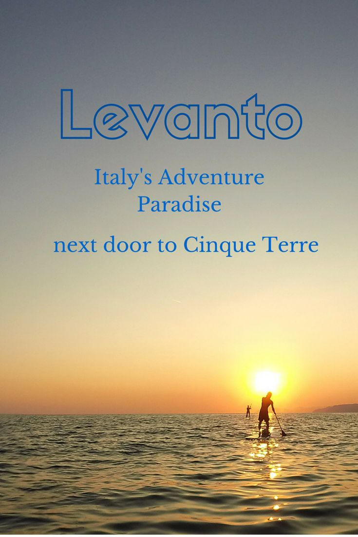 An adventurous weekend in Levanto, next door from Cinque Terre but with much fewer tourists!