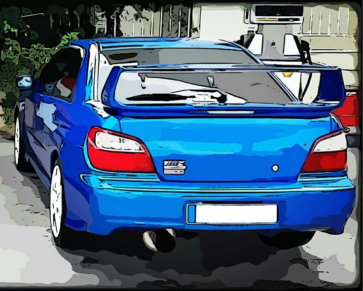 Subaru impreza gdb type supertrack