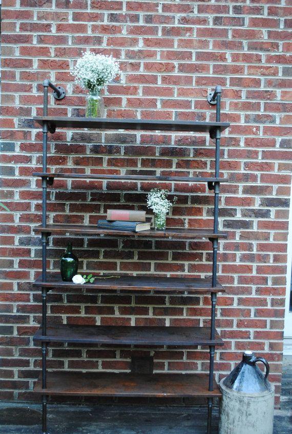 Industrial pipe shelving unit 9 best DIY