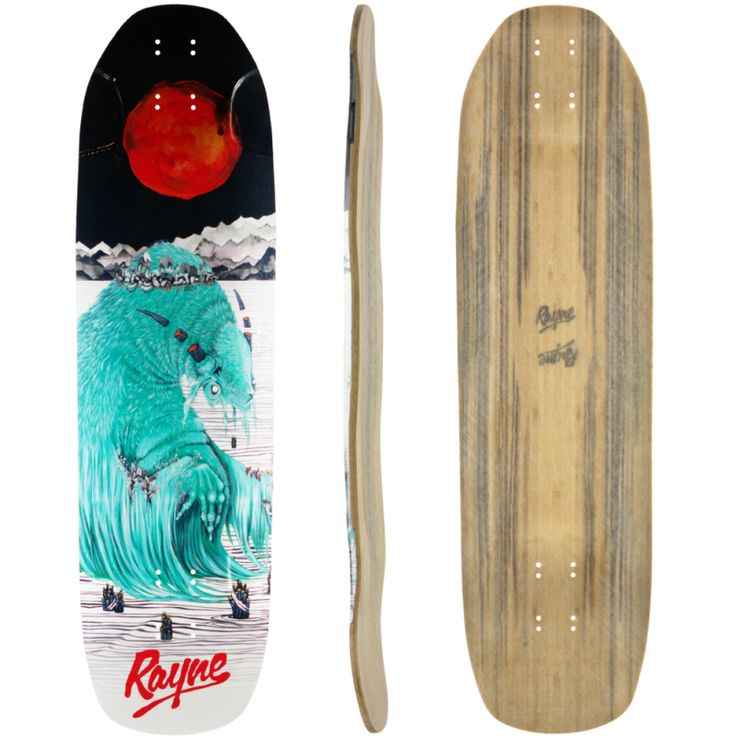 Rayne Brightside – Blood Moon | ONE15 Longboard Shop