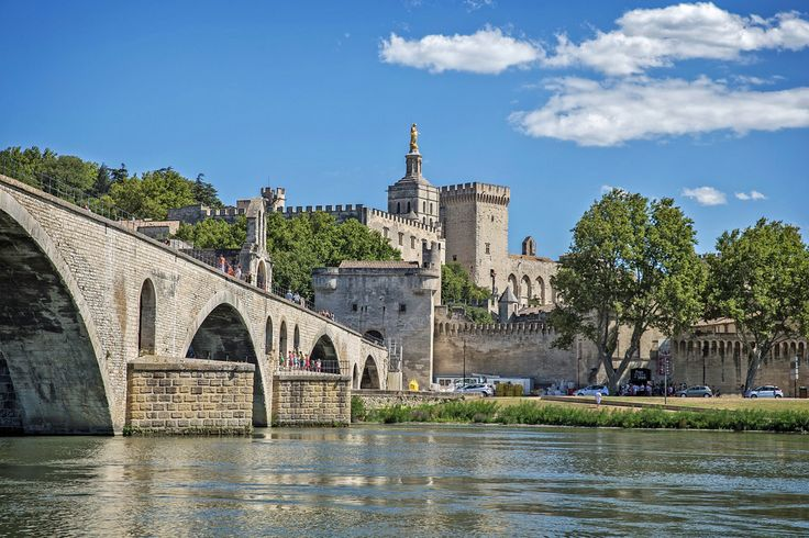 Avignon is our next stop during this cruise. It is also our point of entry to the beautiful Provence.