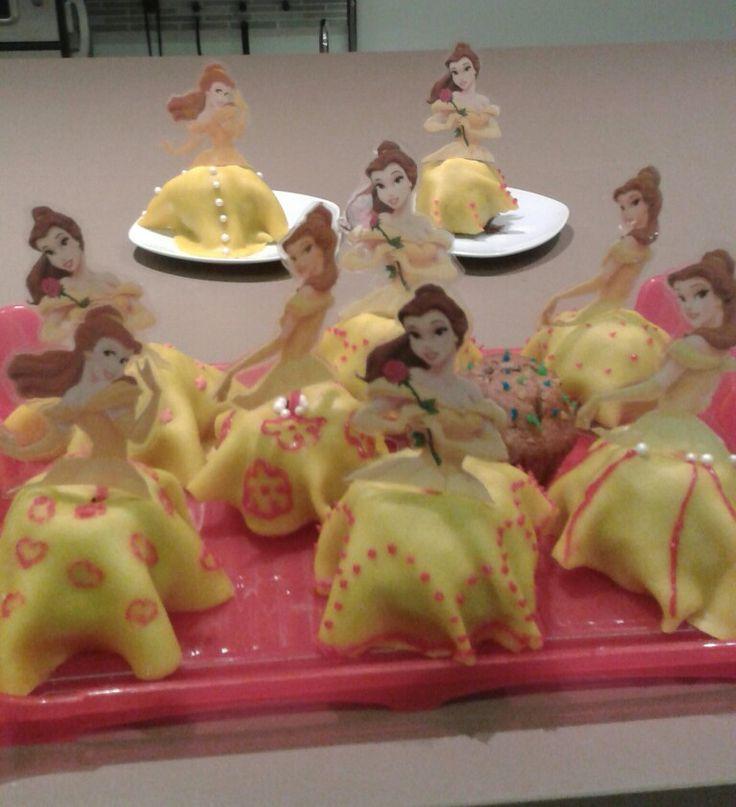 Belle Muffins Cupcake Prinzessin