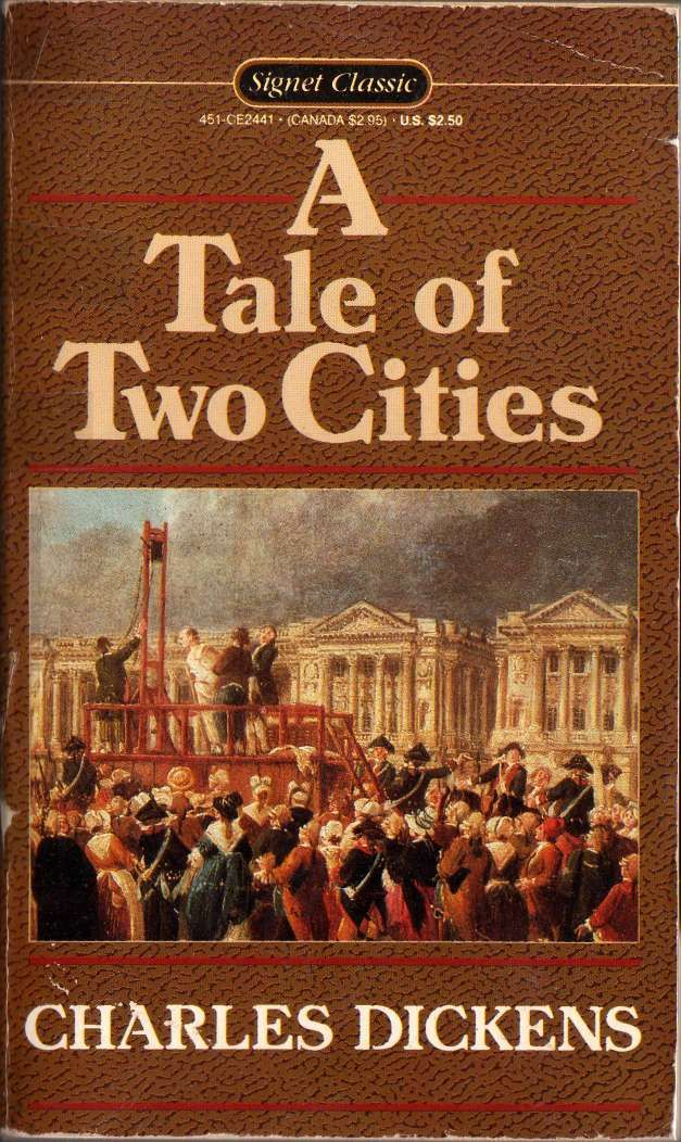 a tale of two cities by charles dickens  my favorite books  best