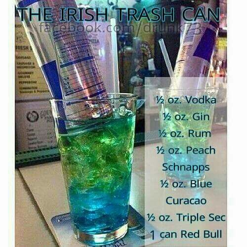 Irish trashcan...sounds delicious!