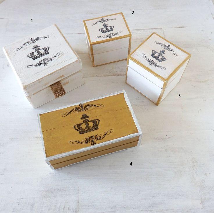 M s de 25 ideas incre bles sobre peque as cajas de madera for Cajas de madera pequenas