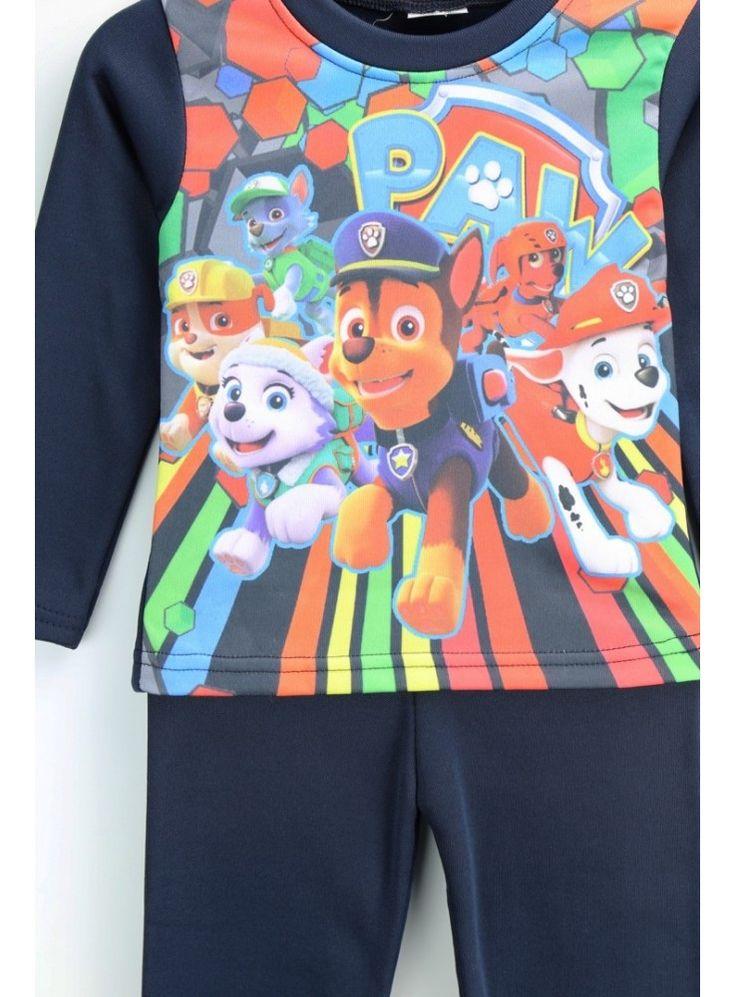 ¿Quieres dormir con sus dibujos preferidos? Este pijama de la Patrulla Canina le encantará.