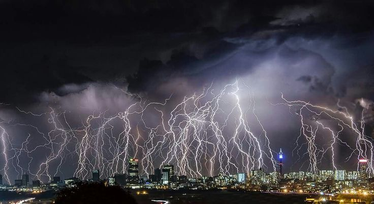 Johannesburg Storm - South Africa
