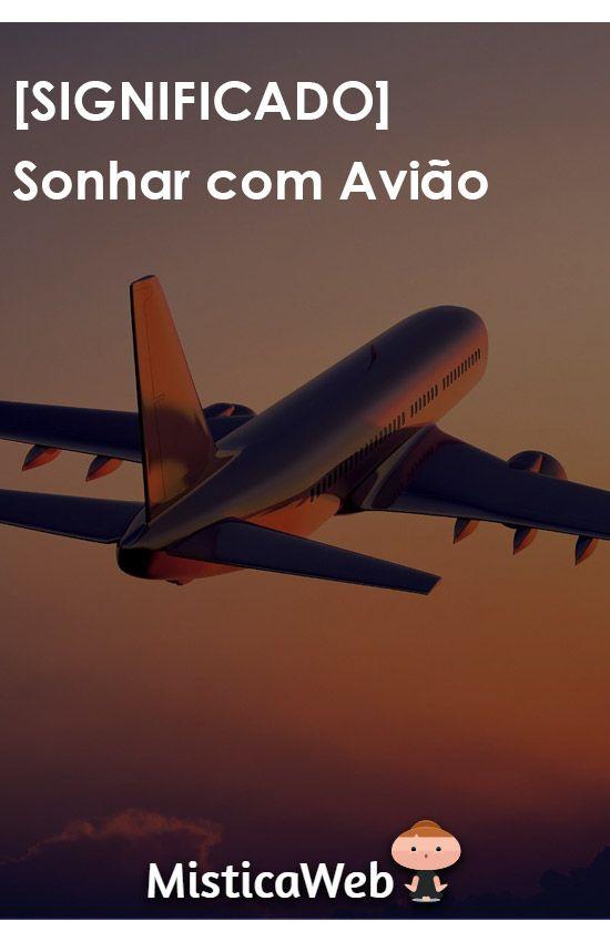 5e5f7ce381 Significado de Sonhar com Avião   Viagem
