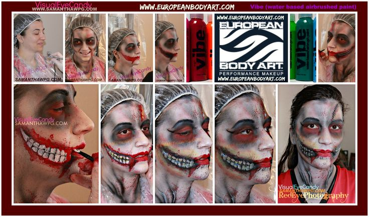 Photo's of the Samantha Wpg Body Painting