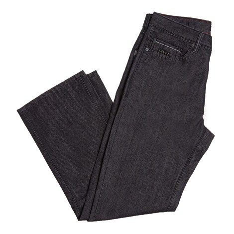 Dark Wash Relaxed Jeans