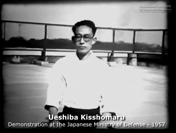 Kisshomaru Ueshiba Doshu - Rare Aikido Demonstration (1957)