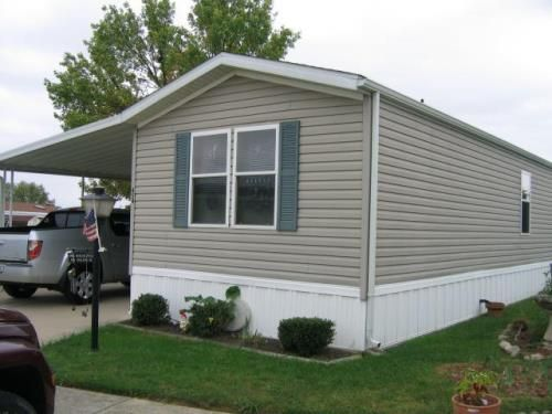 Mobile home landscaping single wide mobile homes design for Large modular homes