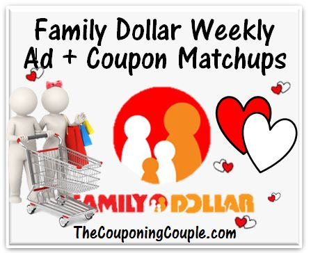 Here is the NEW Family Dollar Ad for 3-30 to 4-5 with Coupon Matchups.   Click the link below to get all of the details  ► http://www.thecouponingcouple.com/family-dollar-ad-for-3-30-14/