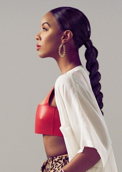 African American Long Ponytail Hairstyles