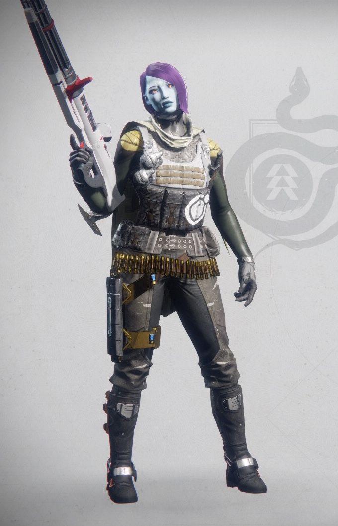 Destiny 2. My Guardian. Species: Awoken - Class: Hunter
