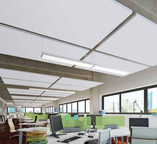 Panneau d coratif d 39 absorption synth tique lisse acoustique optima l canopy armstrong - Plafond suspendu armstrong ...