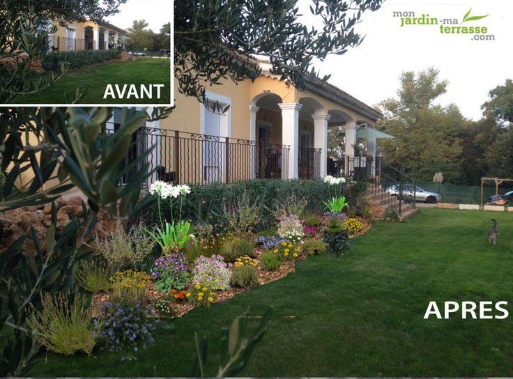 amnager une plate bande mditerranenne - Amenagement Jardin Exterieur Mediterraneen