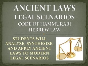 comparing jewish law and hammurabi code The code of hammurabi vs the law of moses  the code of hammurabi contrasts with the code of moses, which comes from the true god,.