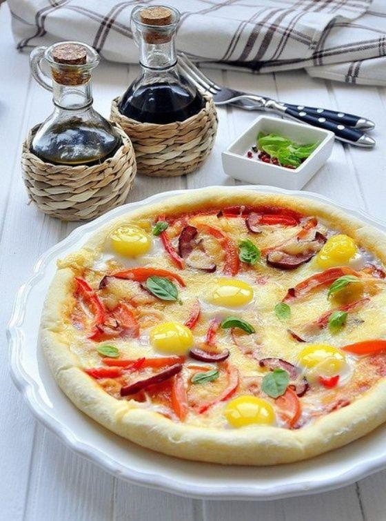 Пицца для завтрака