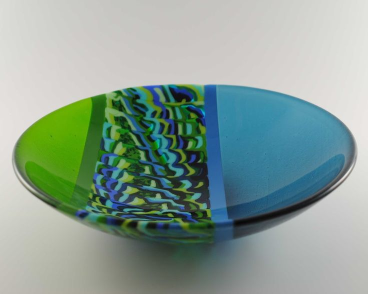 360 Fusion Glass Blog: New Fused Glass Pattern Bar Bowls & Plates