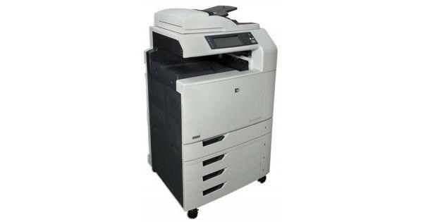 Copiator Profesional HP Color LaserJet CM6030F MFP - A3,A4GRAD BTehnologie: Laser Color A4,A3Functii: Scanare/Imprimare/Copiator/FaxDuplex: Da AutomatViteza de imprimare: 30ppmRezolutie printare: 1200x 600Volum printare maxim: 10000 pag/lunaPorturi: Re